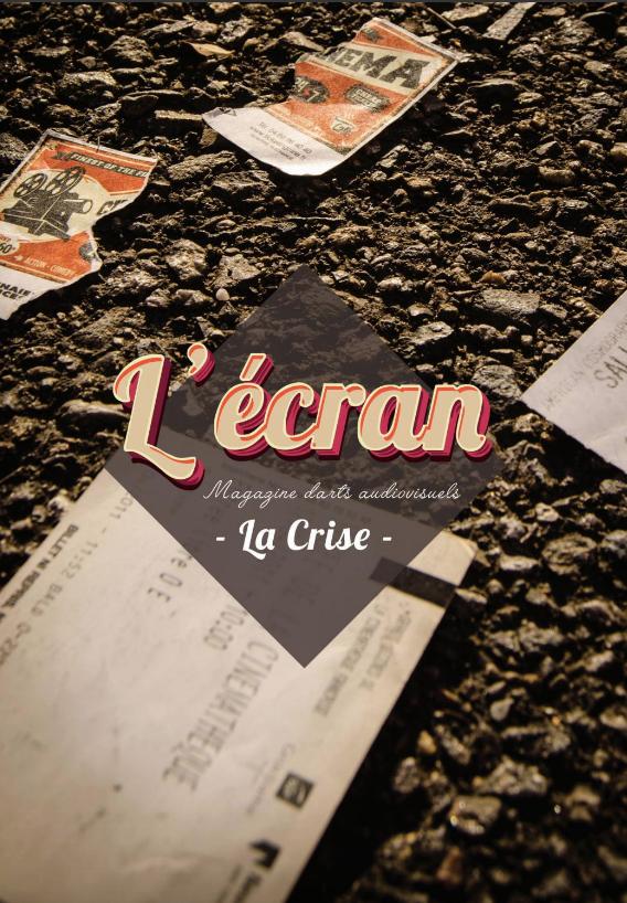 """visuel de la couverture du magazine de janvier 2021, intitulé """"La Crise"""""""